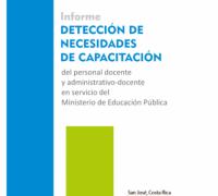 """Enlace al documento """"Informe Detección de Necesidades de Capacitación MEP"""""""