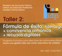 """Enlace al documento """"Taller 2: Fórmula de éxito"""""""