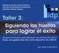 """Enlace al documento """"Taller 3: Siguiendo las huellas para lograr el éxito"""""""