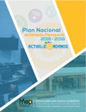 Enlace al documente Plan Nacional de Formación Permanente 2016-2018